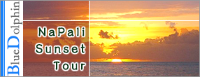 Splash of Kauai Activities - Blue Dolphin / Na Pali Sunset Tour