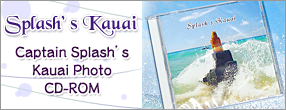 Splash's Kauai -Captaion Splash's Photo CD-ROM